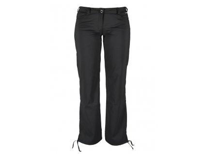 Dámské strečové kalhoty Rejoice - Knautia (černé) (Velikost XS)