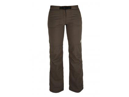 Dámské strečové kalhoty Rejoice - Peppermint (hnědé) (Velikost XL)