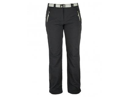Dámské strečové kalhoty Rejoice - Plum (černé) (Velikost XS)