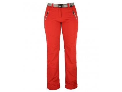 Dámské strečové kalhoty Rejoice - Plum (červené) (Velikost XS)