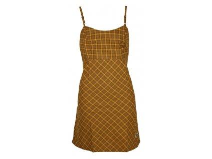 Dámské šaty Rejoice - Dandelion (hnědé) (Velikost S)