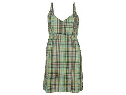 Dámské šaty Rejoice - Plantago (šedo-modro-zelené) (Velikost XS)