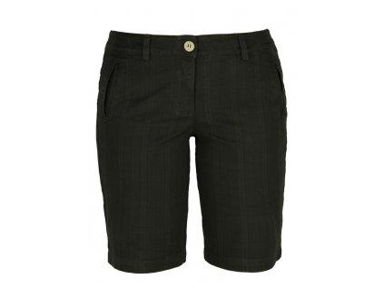 Dámské šortky Rejoice - Achillea (černé) (Velikost XL)