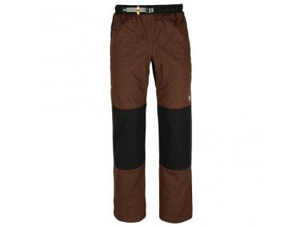 Kalhoty Rejoice - Fat Moth (hnědo-černé) (Velikost XXXL)