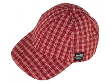 Klasická plátěná kšiltovka Rejoice - Cap Girls (červená)