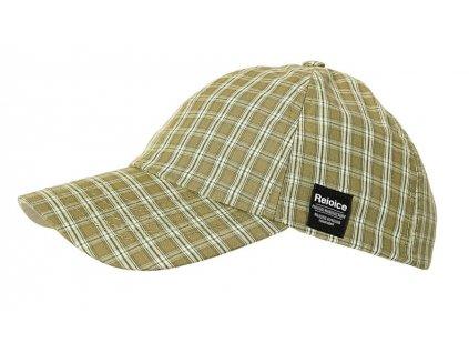 Klasická plátěná kšiltovka Rejoice - Cap Girls (olivově zelená)
