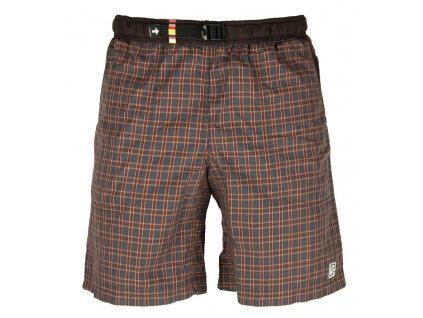 Kraťasy Rejoice - Moth Shorts (hnědo-modré) (Velikost XXXL)