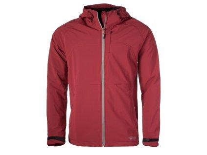 Pánská softshellová bunda Rejoice - Vinca (červená) (Velikost XXL)