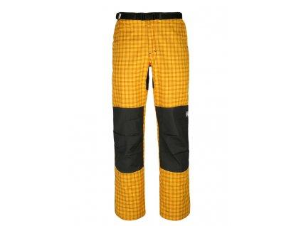 Pánské kalhoty Rejoice - Hemp (žluto-šedé) (Velikost XS)