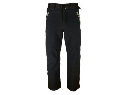 Pánské softshellové kalhoty Rejoice - Papaver (černé) (Velikost XXL)