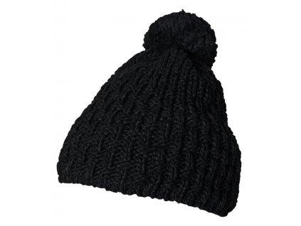 Pletená čepice Rejoice - Torilis (černá)