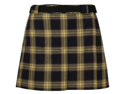 Sukně Rejoice - Skirt (černo-žlutá) (Velikost XS)