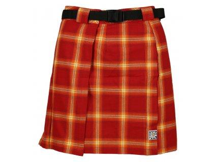 Sukně Rejoice - Skirt (červená) (Velikost XS)