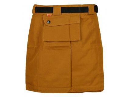 Sukně Rejoice - Skirt (hnědá) (Velikost XS)