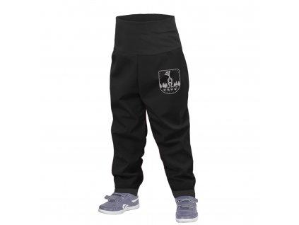 Unuo, Batolecí softshellové kalhoty bez zateplení, Černá