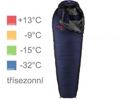 Makalu modrý teploty