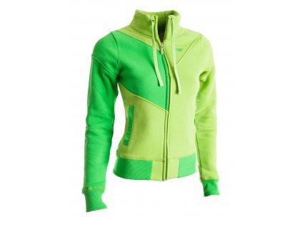Dámská mikina Woox - Infinity Sweatshirt Green