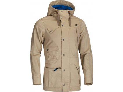 Pánská bunda Woox - Quentin Men´s Parka Jacket Sand
