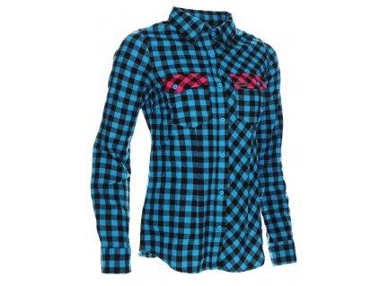 Dámská košile Woox - Flannel Ladies´ Blue