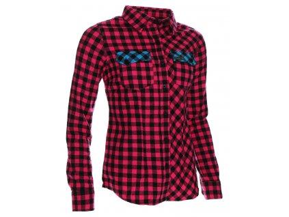 Dámská košile Woox - Flannel Ladies´ Magenta