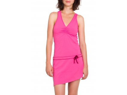 Dámské šaty Woox - La Flecha Dress Salmon