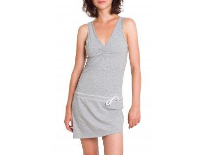 Dámské šaty Woox - La Flecha Dress Grey