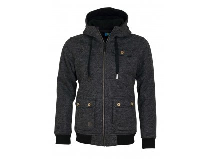 Pánská softshellová bunda Woox - Woolshell Men´s Jacket Dark
