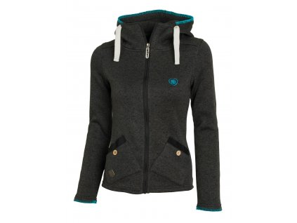 Dámská mikina Woox - Tune Fleece Ladies´ Black