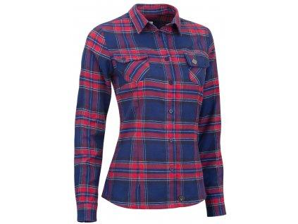 Dámská košile Woox - Flannel Ladies´ Peacoat