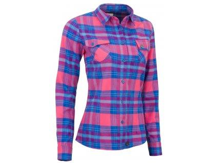 Dámská košile Woox - Flannel Ladies´  Rouge
