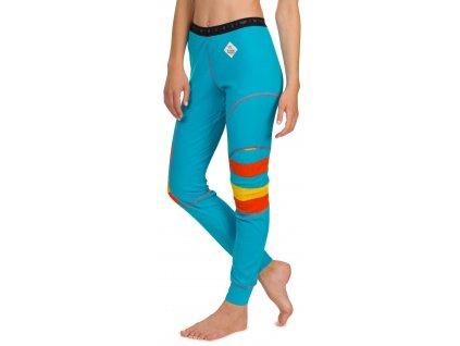 Dámské funkční spodky Woox - Bodyheat Ladies´ Pants Azure