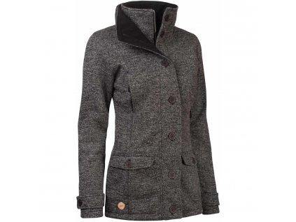 Dámský kabát Woox - Ovis Concha Gray Chica