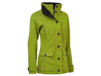 Dámský kabát Woox - Ovis Concha Spinach Chica