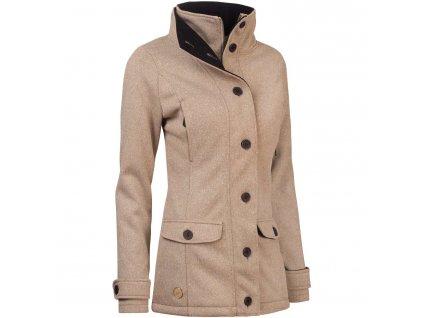 Dámský softshellový kabát Woox - Ovis Concha Twig Chica