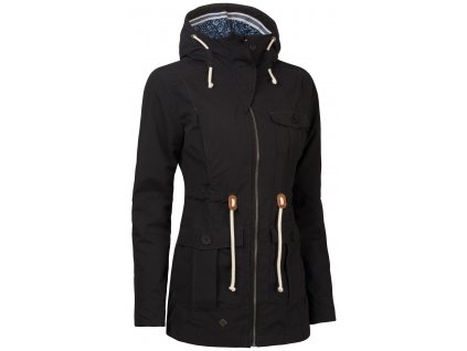Dámský kabát Woox - Ventus Urban Anthracite Chica