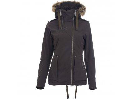 Dámská zimní bunda Woox - Pinna Pirata Dark Chica