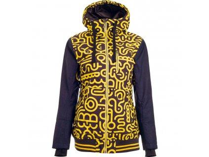 Dámská zimní bunda Woox - Lanula Vibrant Chica