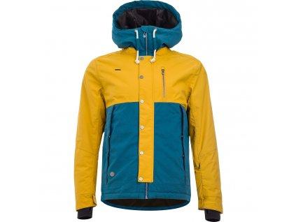 Pánská zimní bunda Woox - Lanula Tawny Olive Senor