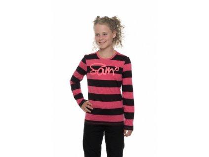 SAM 73 Dívčí triko s dlouhým rukávem