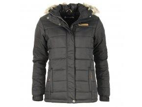 Dámská zimní bunda Alpine Pro - Isabella (černá) (Velikost XXL)