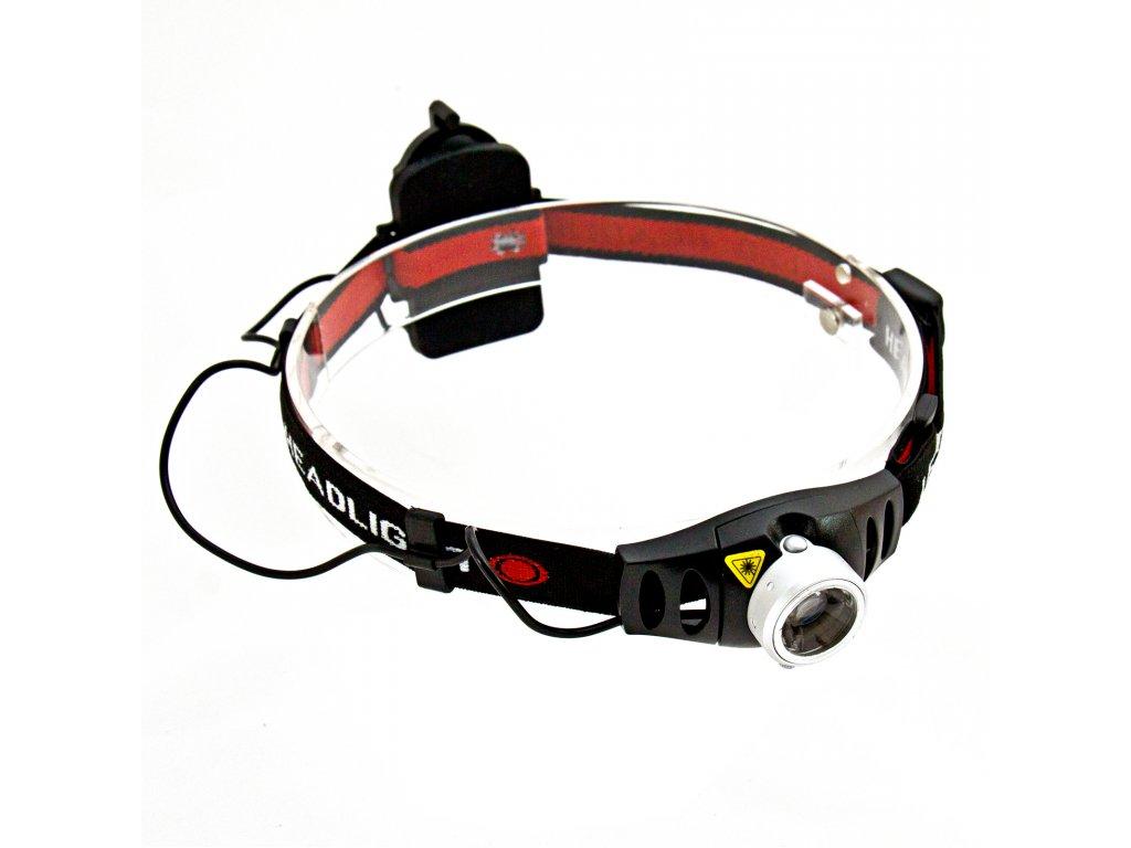 Čelovka Boruit RJ-0233 (180 lm) - plynulá regulace intenzity světla