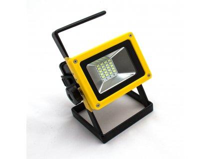 Přenosný světlomet Boruit RJ-2141 (1000 lm) - funkce power banky a barevné blikání