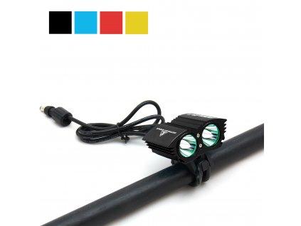 Svítilna na kolo a čelovka Boruit RJ-1192 (1600 lm)