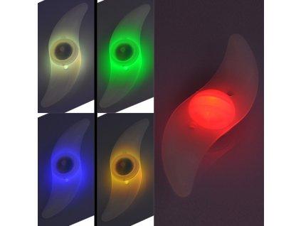 Blikačka do výpletu kola Yuyu RJ-0004  - barevné blikání