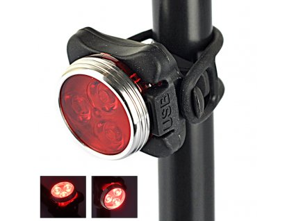 Blikačka na kolo Yoson RJ-0030 Red (3 LED)