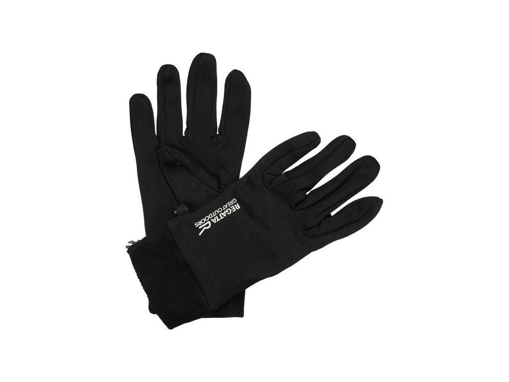 Rękawice męskie Regatta RMG011 XERT Extol Black