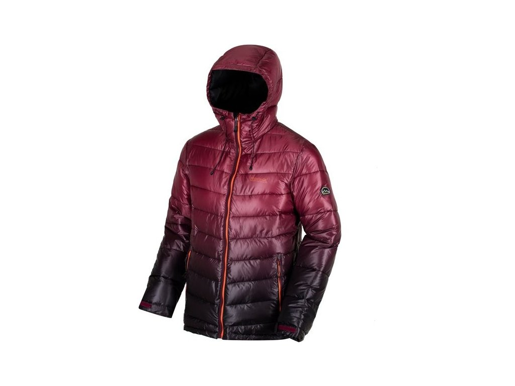Męska ciepła kurtka Regatta RMN105 AZUMA Czerwona
