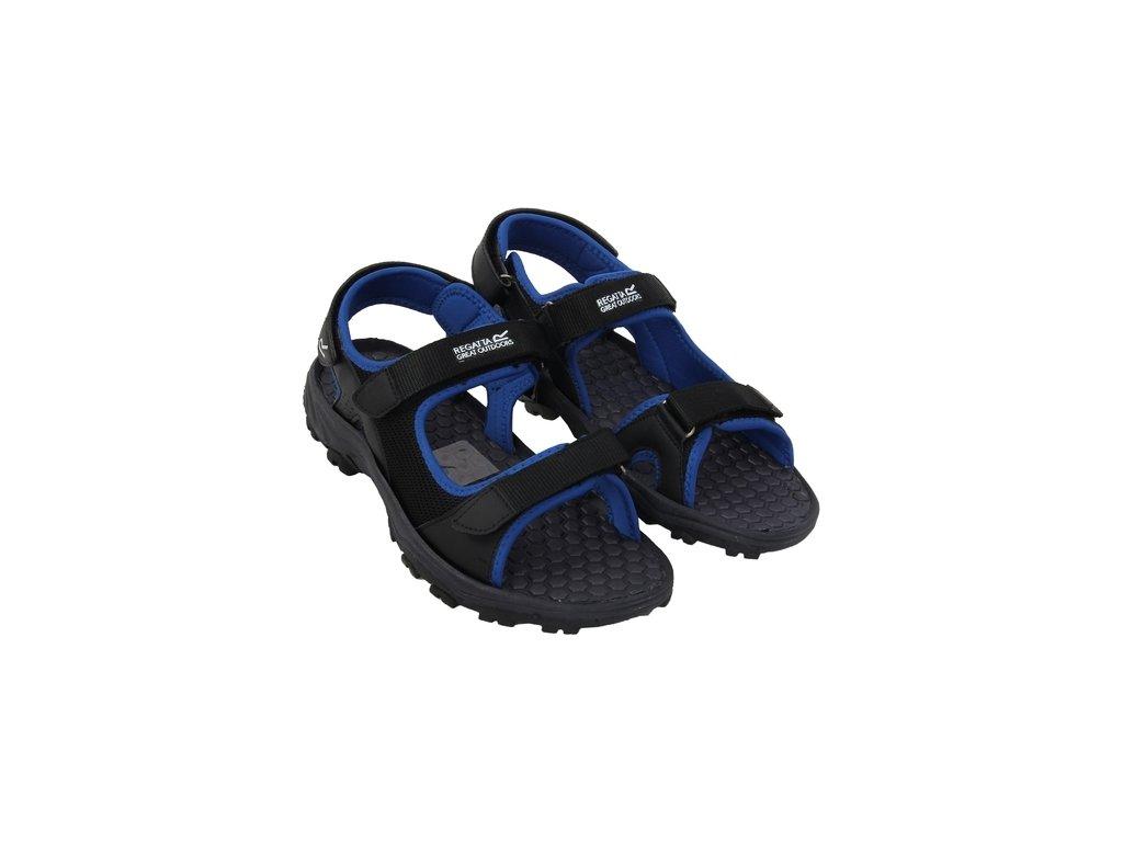 Sandały męskie Regatta RMF396 TERRAROCK Black/Oxford Blue