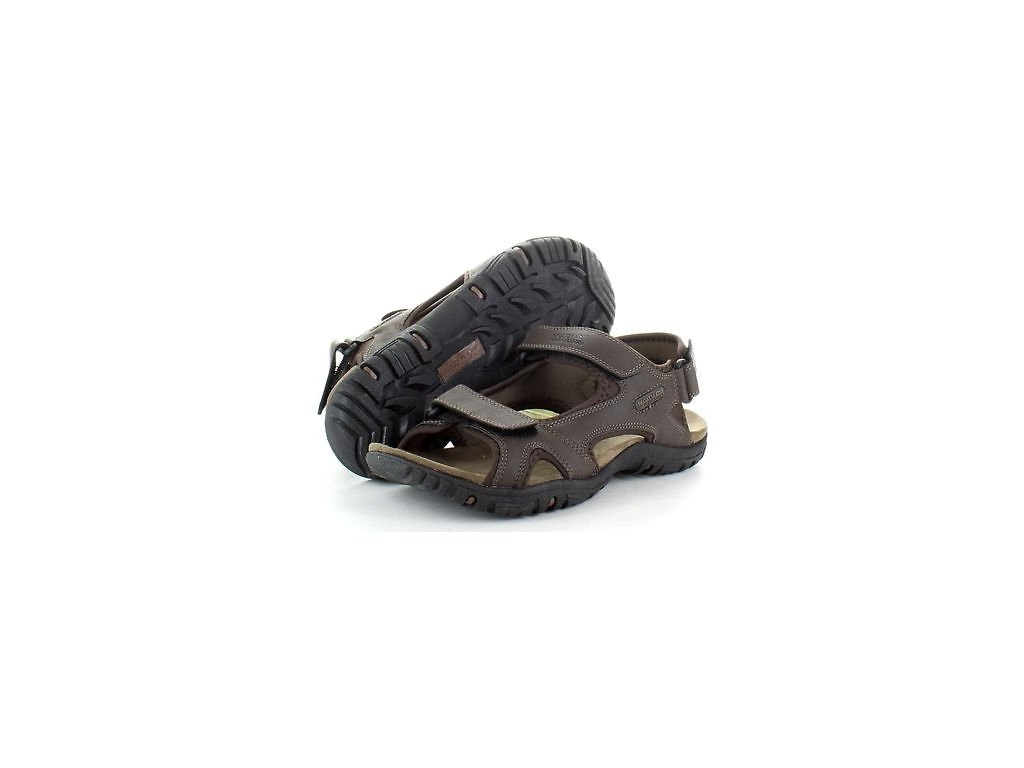 Brązowe sandały męskie Regatta RMF331 Haris