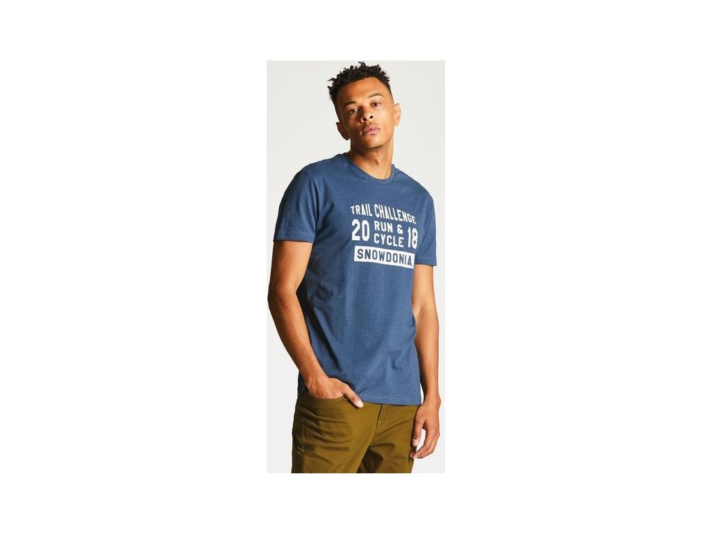 Męska koszulka Dare2B DMT419 RACEMAKER TEE niebieska
